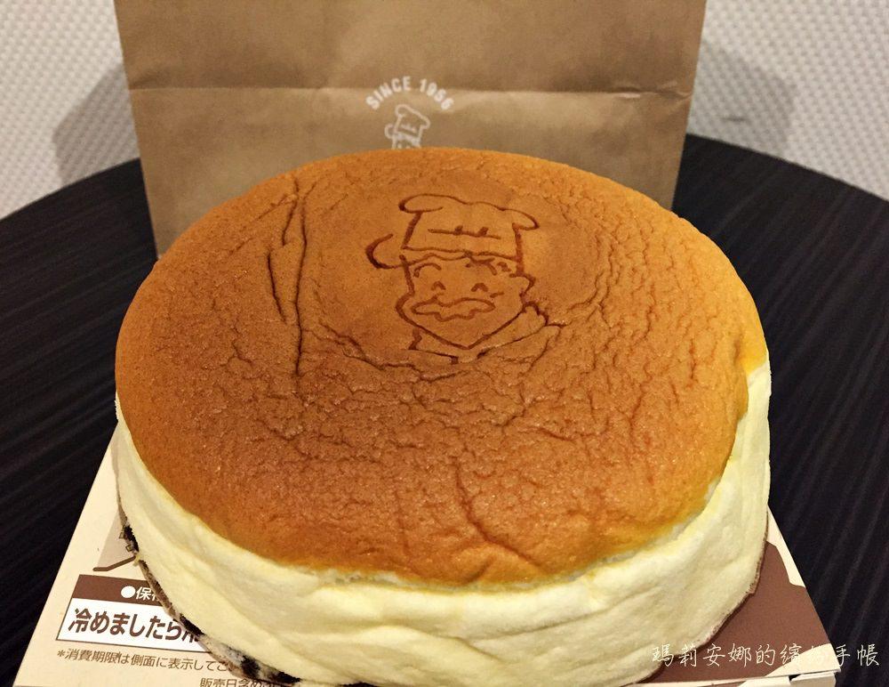 大阪美食 Rikuro老爺爺起司蛋糕-超人氣水蒸起司蛋糕