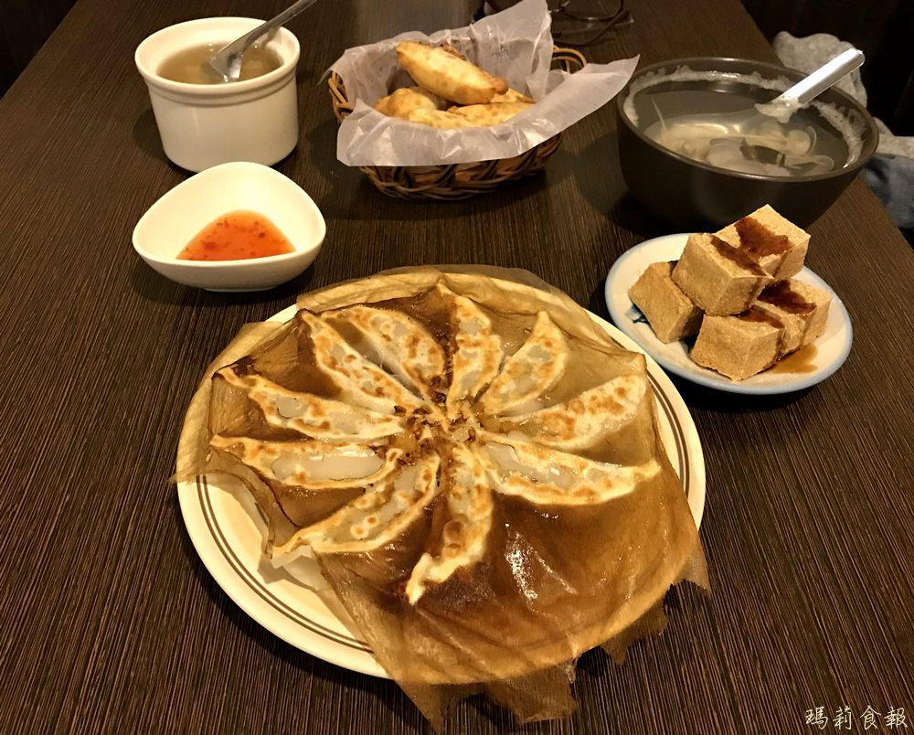台中西區美食 西川家-燒き餃子 會爆漿的燒餃子 美味又平價 晚餐、宵夜好選擇