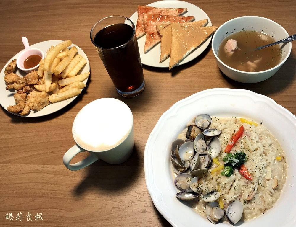 台中西區美食 艾美晨光早午餐 份量十足平價美味 飲料無限續杯(附菜單)
