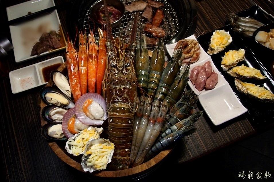 燒肉眾台中一中店|499元就能吃到飽 多種肉品海鮮無限量供應
