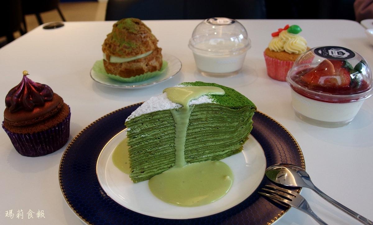 古雷司麵包|精緻的法式西點 抹茶千層 季節限定甜點 台中西屯下午茶推薦