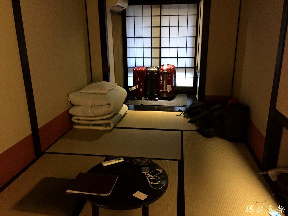京都住宿推薦|京町家旅館 さくら うるし邸 榻榻米房型 近四条烏丸