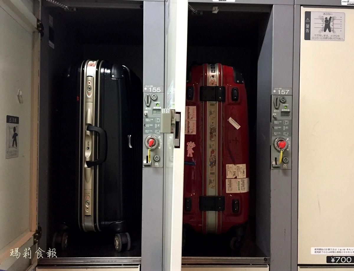 日本自助|京成電鐵上野站 行李寄放櫃 往動物園方向
