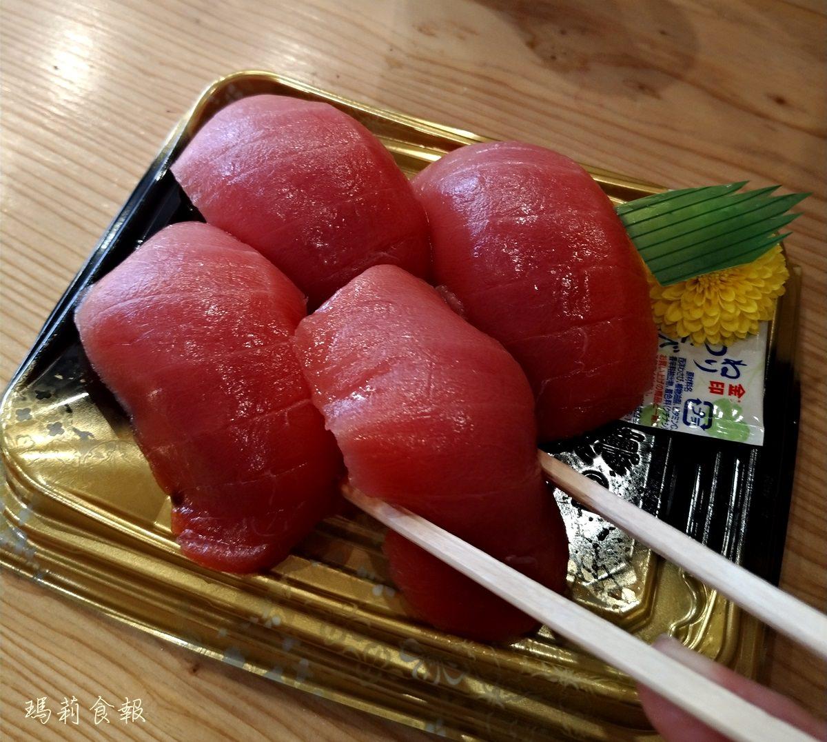 大阪日本橋美食|黑銀 新鮮黑鮪魚專賣 厚切生魚片 黑門市場海鮮必吃
