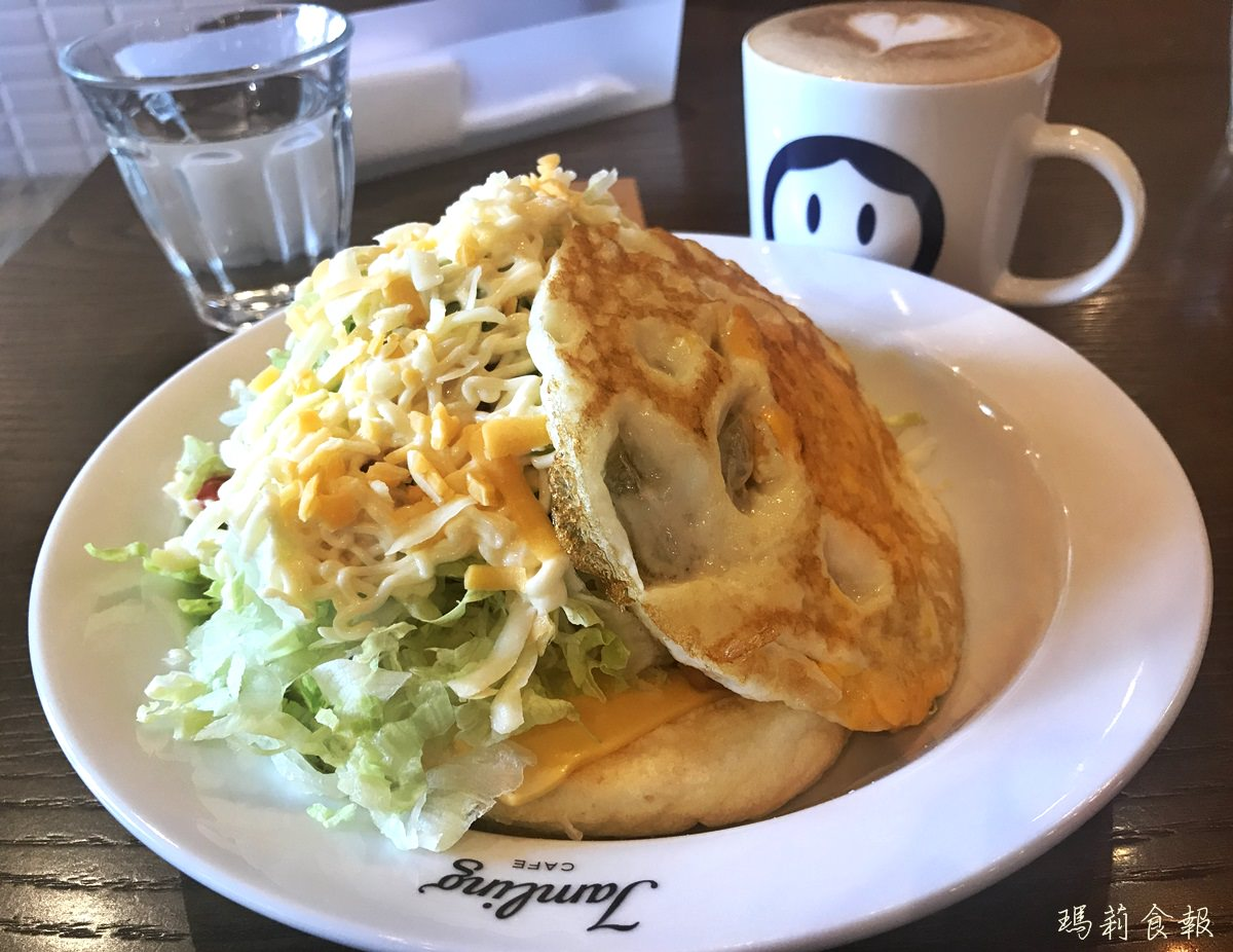 台中西區美食|Jamling cafe 日式厚鬆餅店 大推鹹口味(附菜單)