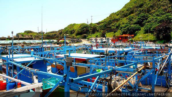 花蓮豐濱景點 大港口部落的碼頭邊