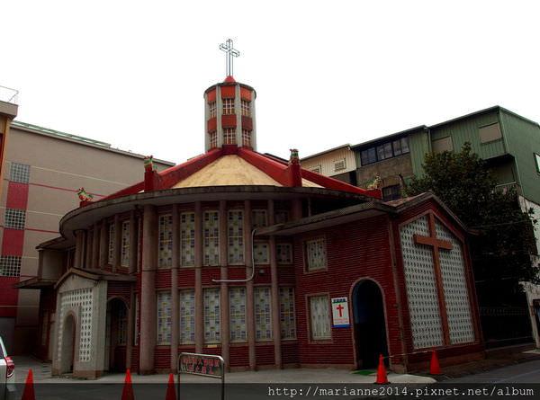 宜蘭羅東景點 聖母醫院耶穌聖心堂