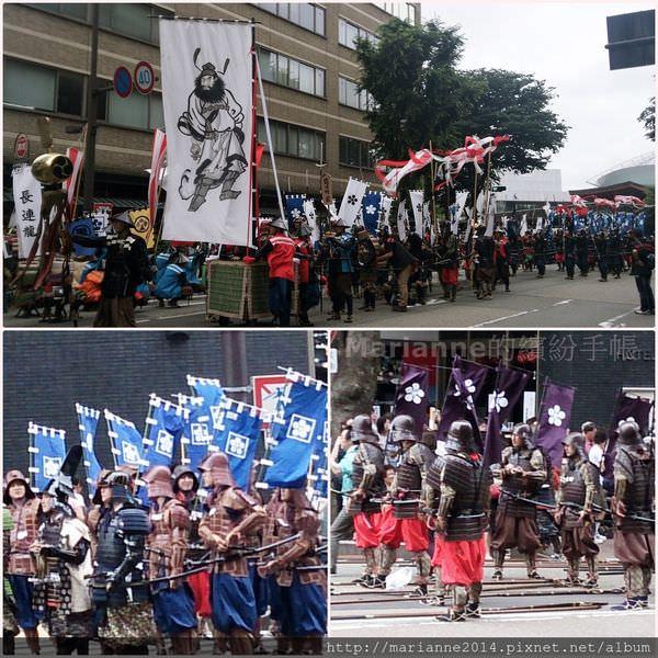 日本北陸自助|金澤百萬石祭-百萬石遊行(金沢百万石まつり-百万石行列)